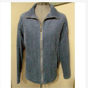 WOOLRICH Corduroy Coat Jacket L Bluebell zip up